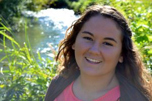 Senior Photo Close Up